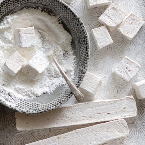 Fluffiest Homemade Kahlúa Marshmallows