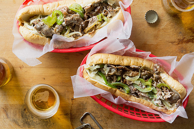 Philly Cheesesteak Sandwiches | Bakers Royale