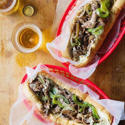 Philadelphia Cheese Steak Sandwich