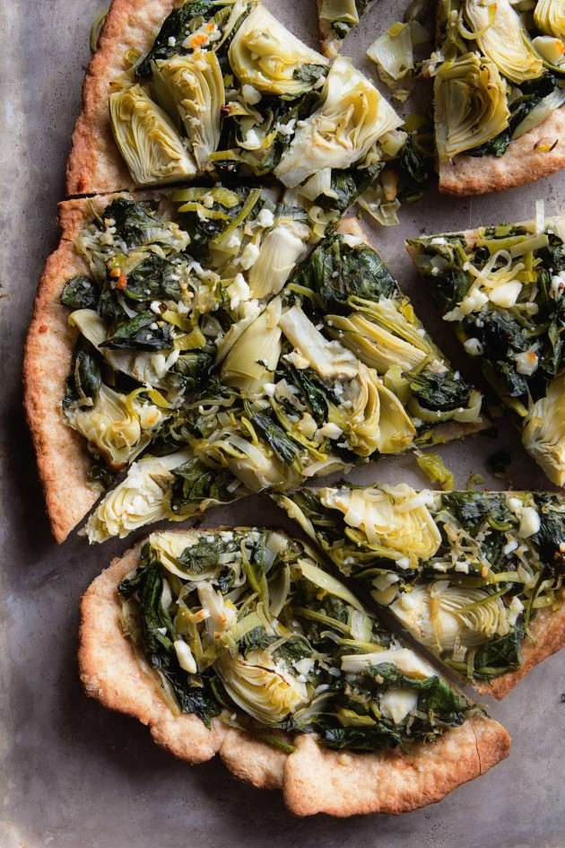 Spinach and Artichoke Flatbread_vertical