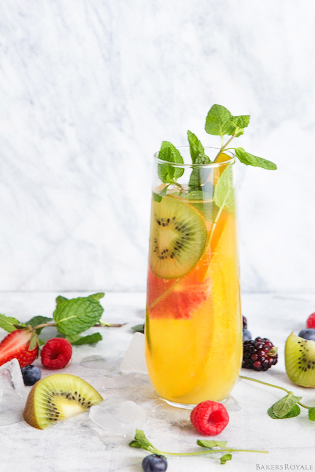 Tropical Fruit Punch | Bakers Royale