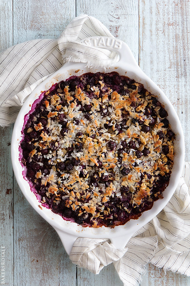 Blueberry Baked Oatmeal | Bakers Royale