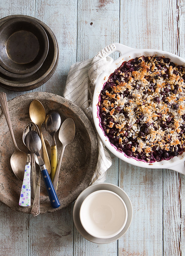 Blueberry Baked Oatmeal _ Bakers Royale