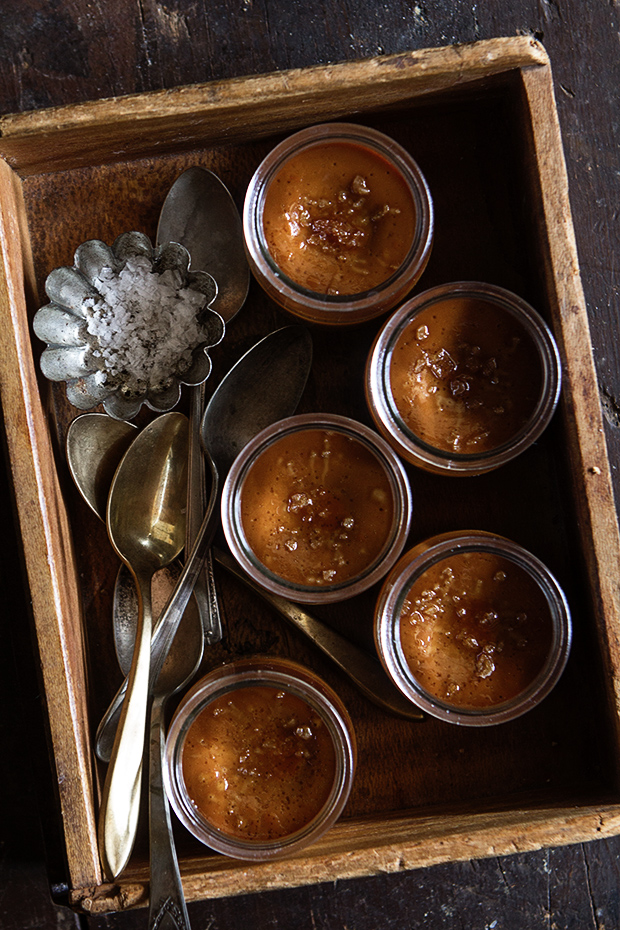 Butterscotch Pot de Creme via Bakers Royale
