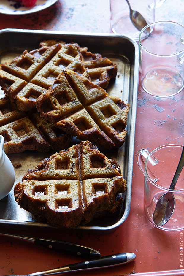 Waffled Banana Bread_Bakers Royale