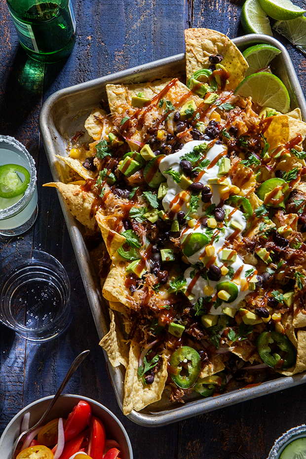 Beer Pulled Pork Nachos | Bakers Royale