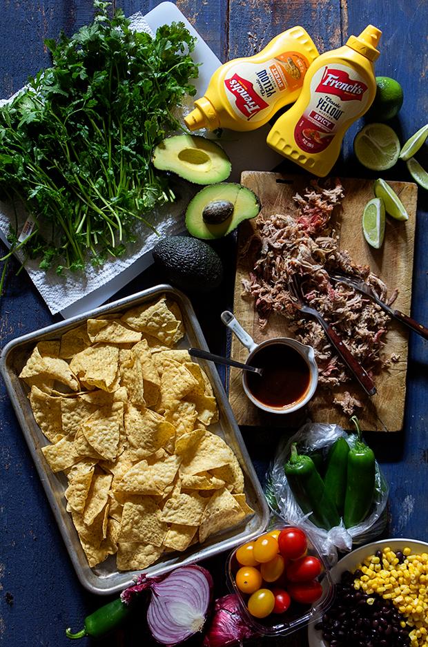 Beer Pulled Pork Nachos | Ingredients | Bakers Royale