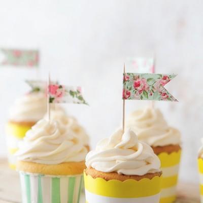 Classic Vanilla Cupcake | Bakers Royale