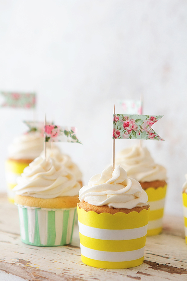 Classic Vanilla Cupcake and Vanilla Buttercream Frosting