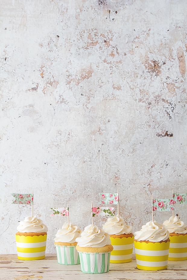 Classic Vanilla Cupcake _ Bakers Royale