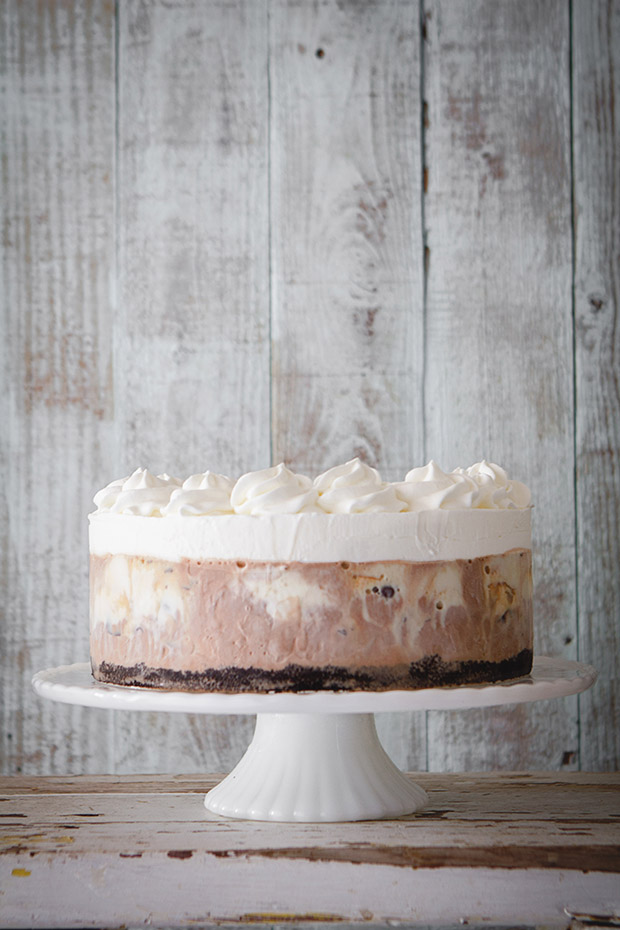 Frozen Custard Cake via Bakers Royale