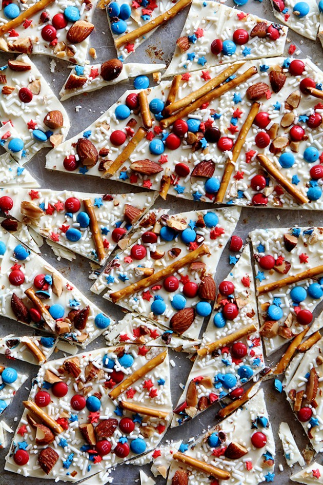 4th of July Candy Bark | Bakers Royale