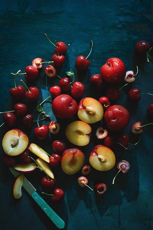 Cherry-Plum Port Crumble