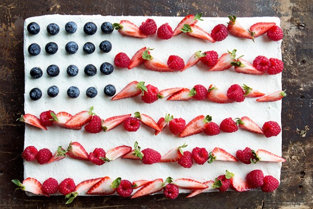 Flag Cake | Bakers Royale