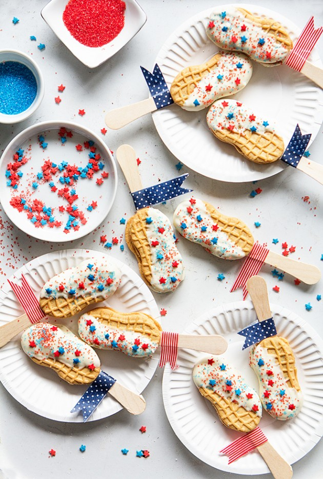 Star Spangled Banner Cookie Pops | Bakers Royale