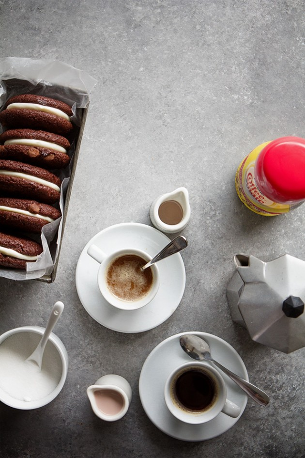 Tuexedo Cookies and Coffee   Bakers Royale