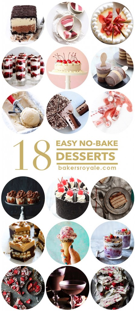 18 Easy No-Bake Recipe