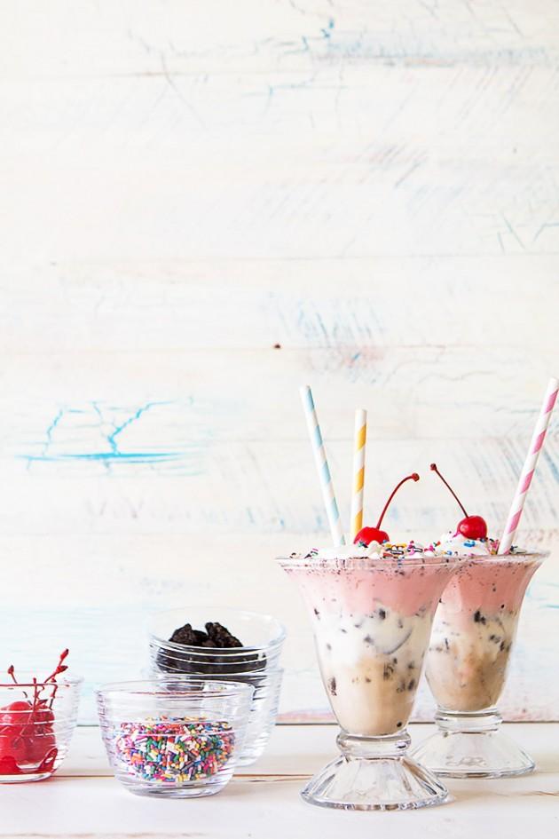 Oreo Neapolitan Milkshake_Bakers Royale
