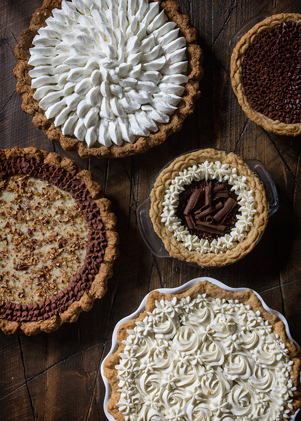 Chocolate Cream Pies | Bakers Royale