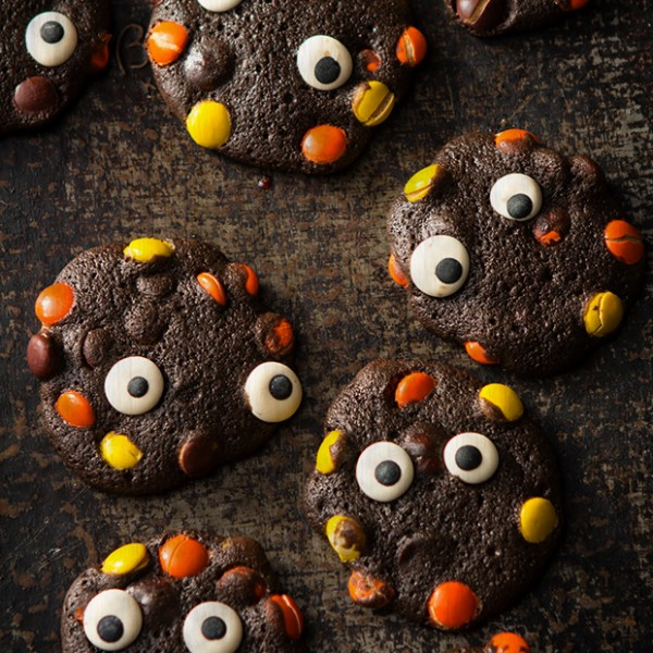 Double Chocolate Monster Cookies Bakers Royale 600x600