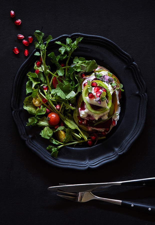 Warm Tomato and Beet Salad with Burrata_Ingredients via Bakers Royale