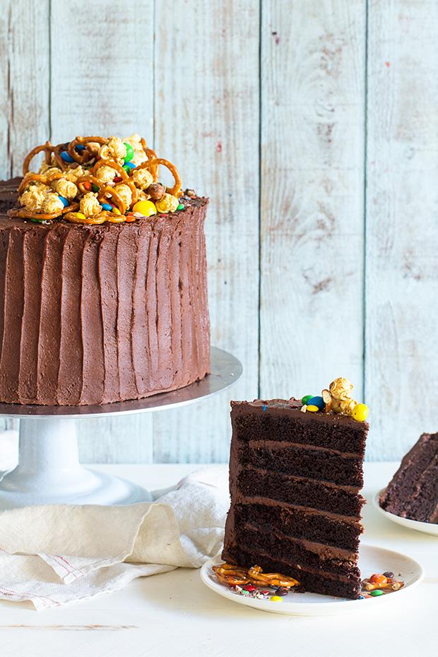 Chocolate Birthday Cake   Bakers Royale