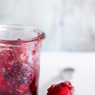 Cranberry Apple Chutney   Bakers Royale copy