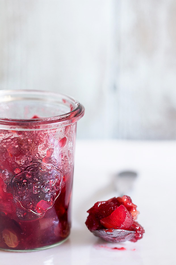 Cranberry Apple Chutney | Bakers Royale copy