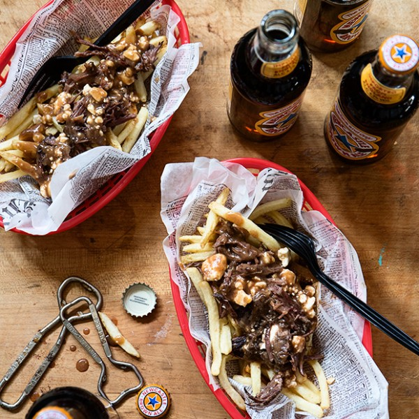 Beer Braised Short Rib Poutine Bakers Royale 600x600