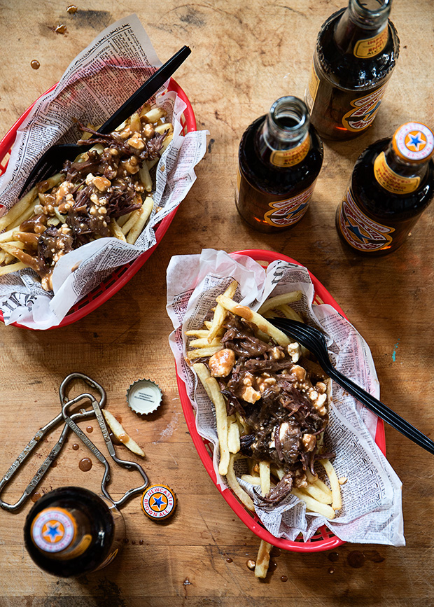 Beer Braised Short Rib Poutine - Bakers Royale copy