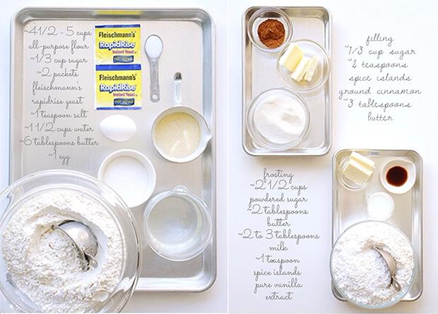 Beginners Cinnamon Roll | Ingredients | Bakers Royale