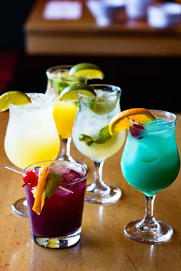 Benihana Cocktails | Naomi Robinson