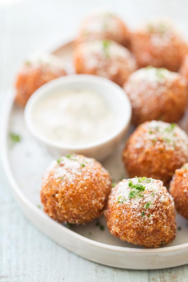 Buffalo Meatballs - Bakers Royale