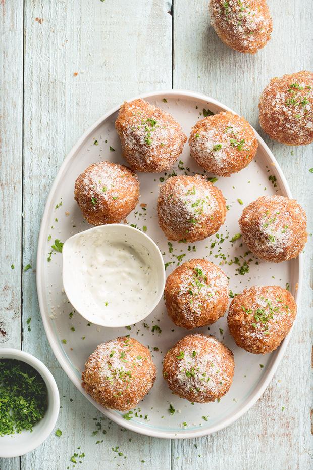 Buffalo Meatballs | Bakers Royale