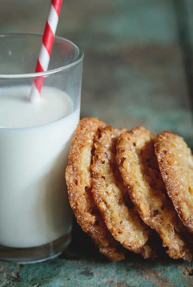 Potato Chip Lace Cookies via Bakers Royale copy