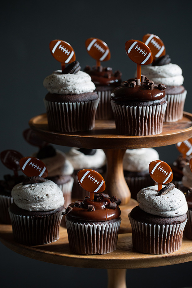 Superbowl Cupcakes | Bakers Royale