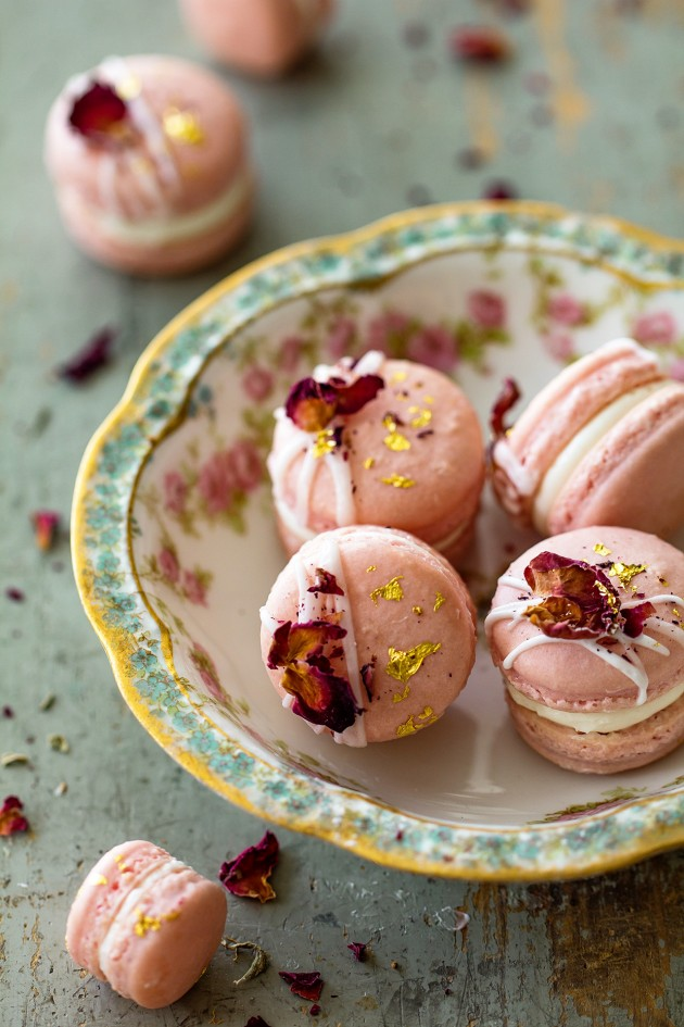 Jasmine Rose Macarons | Bakers Royale copy