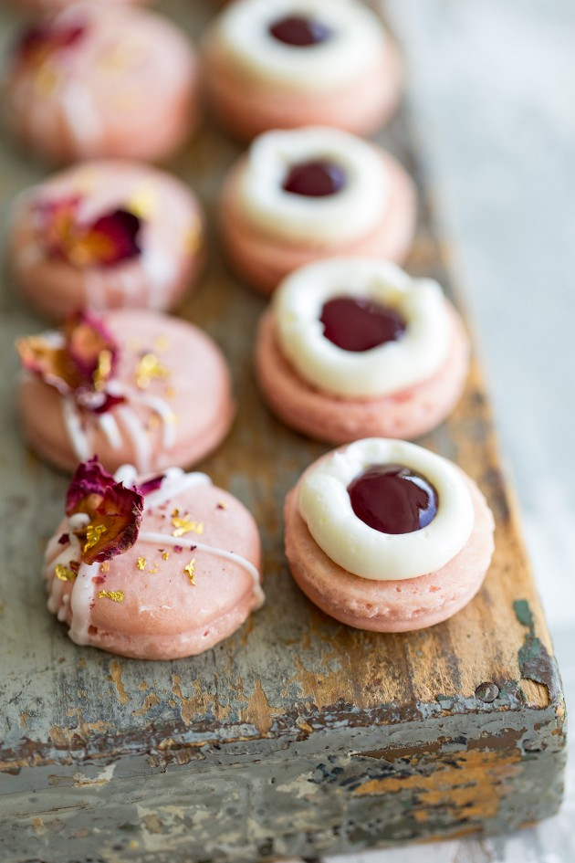 Jasine Rose Macarons _ Bakers Royale