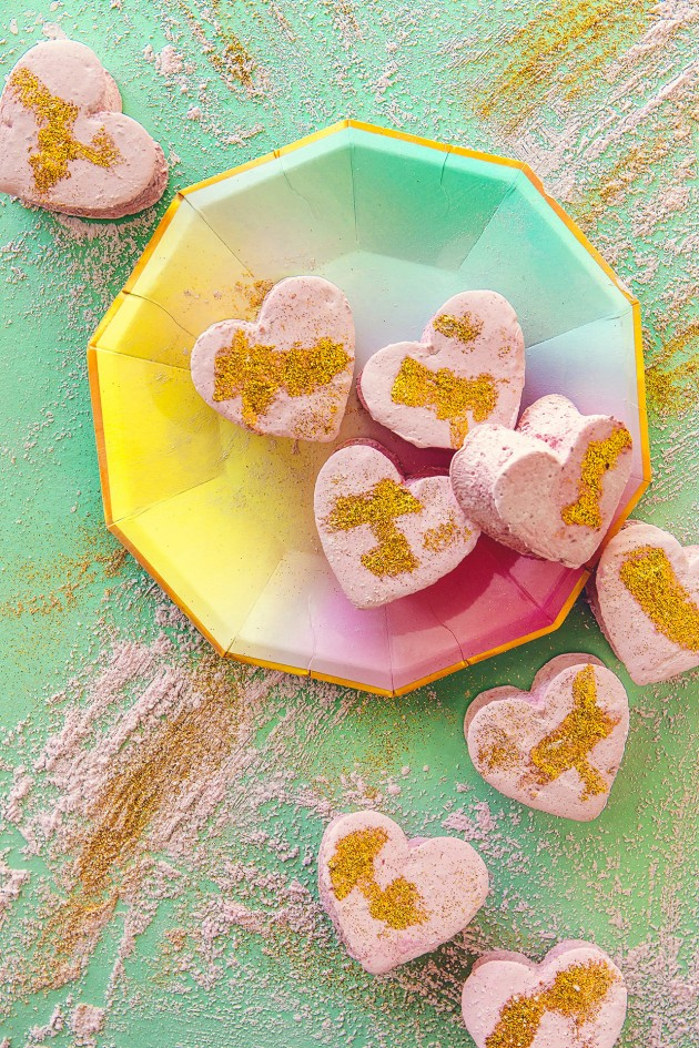Raspberry Champagne Marshmallows | Bakers Royale