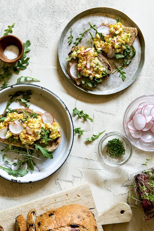 Breakfast Egg Salad    Bakers Royale