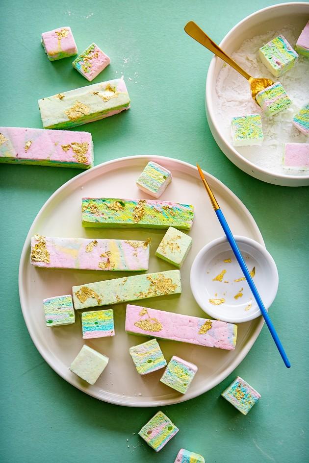 Rainbow Marshmallows | Bakers Royale