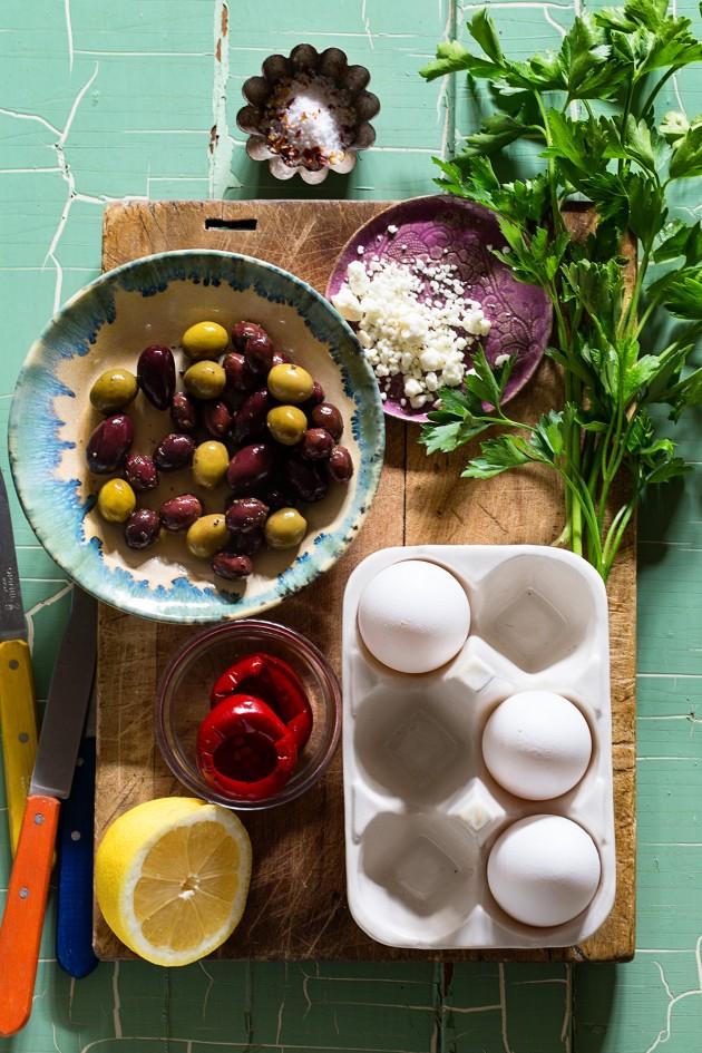 Mediterranean Omelette | Ingredients | Bakers Royale
