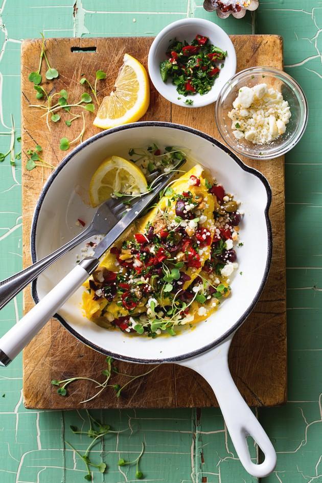 Mediterranean Omelete