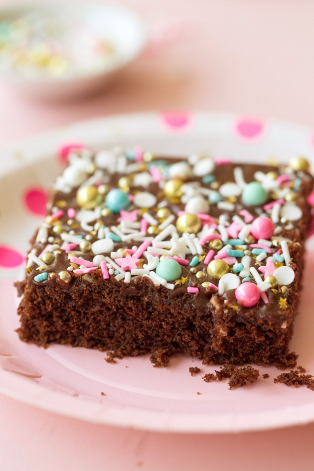Chocolate Sheet Cake - Bakers Royale
