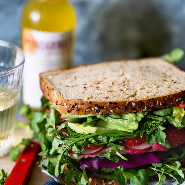 Ultimate Veggie Sandwich Bakers Royale 600x600