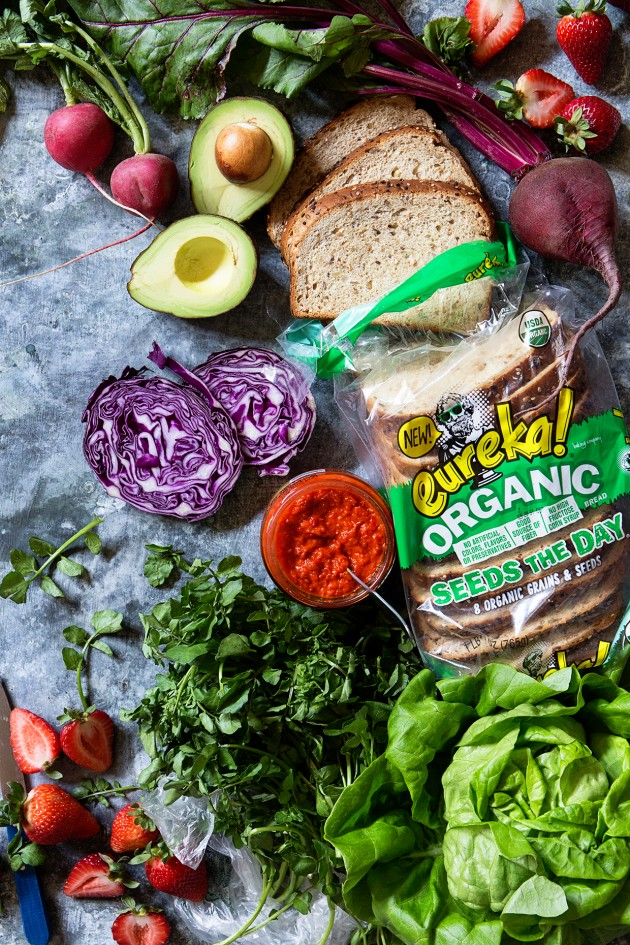 Ultimate Veggie Sandwich   Ingredients   Bakers Royale