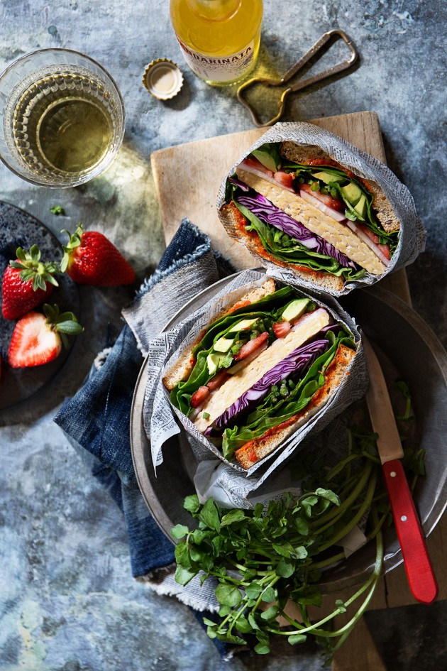 Ultimate Veggie Sandwich via Bakers Royale