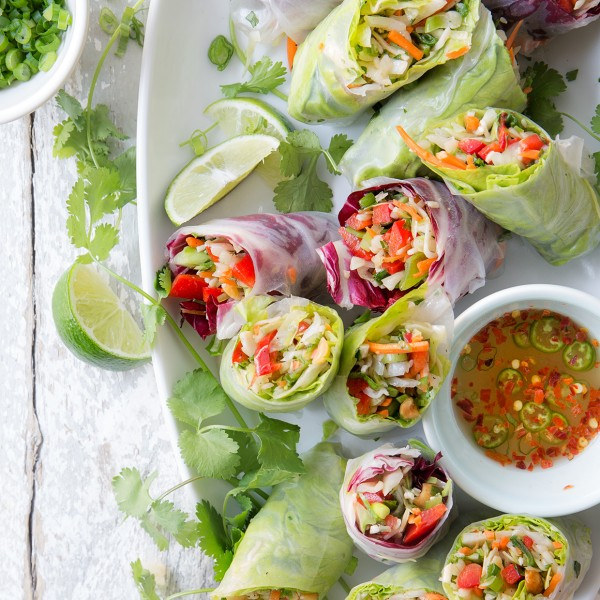 Chinese Salad Spring Rolls Bakers Royale 600x600