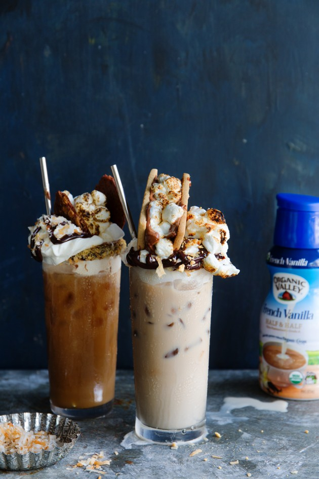 S'Mores Coconut Mocha via Bakers Royale
