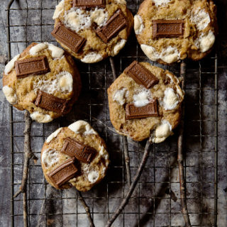 S'mores Cookies on a Stick   Bakers Royale